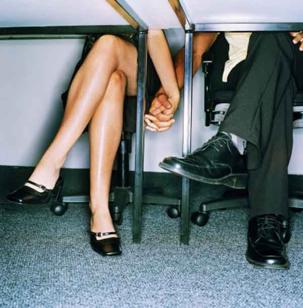Relacionamentos no local de trabalho