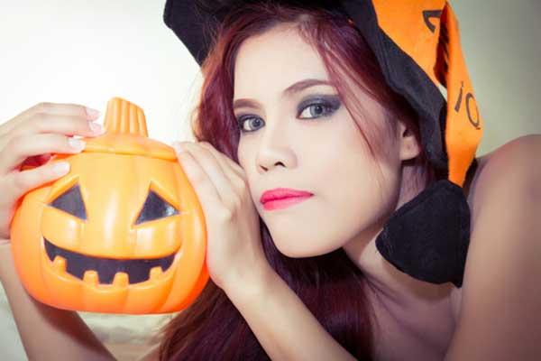 halloween mulher